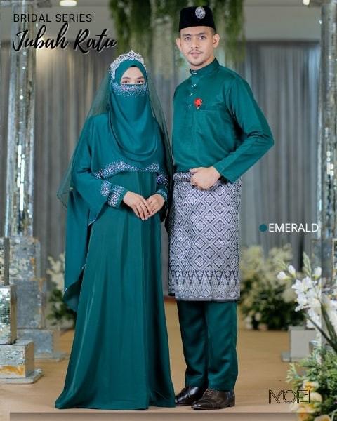 Ratu Arab In Emerald Green