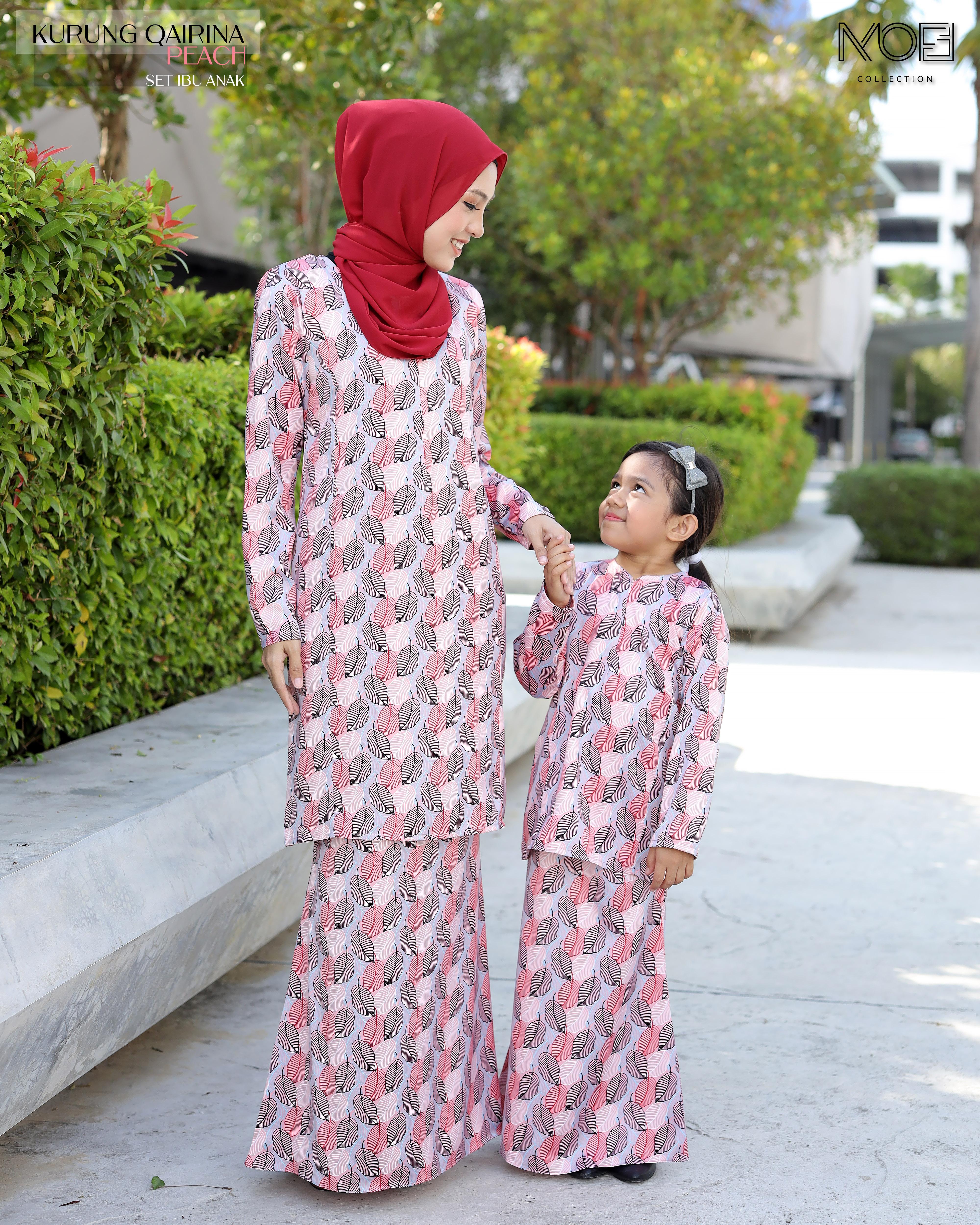 Qairina Kids In Peach