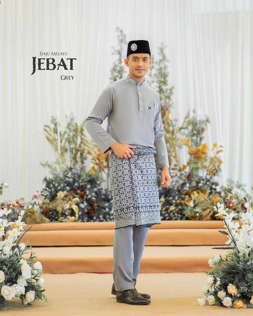 Melayu Jebat In Grey