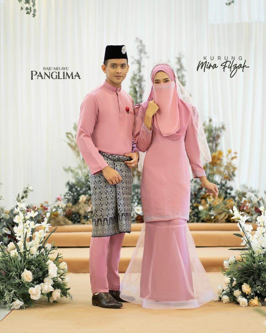 Mira Filzah In Dusty Pink