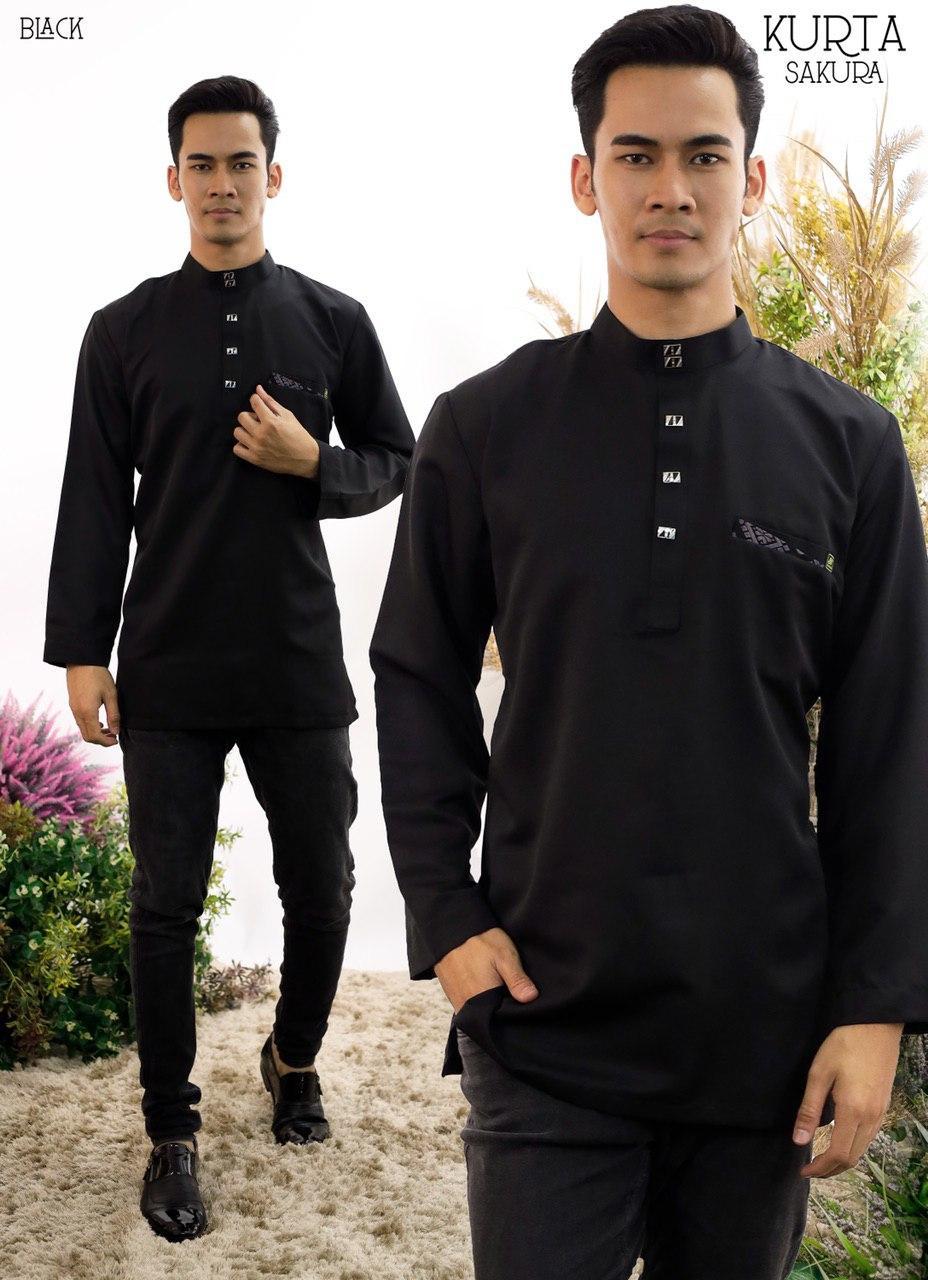 Rayyan Kurta In Black