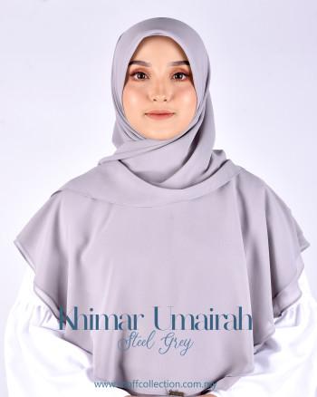 Khimar Umairah In Steel Grey