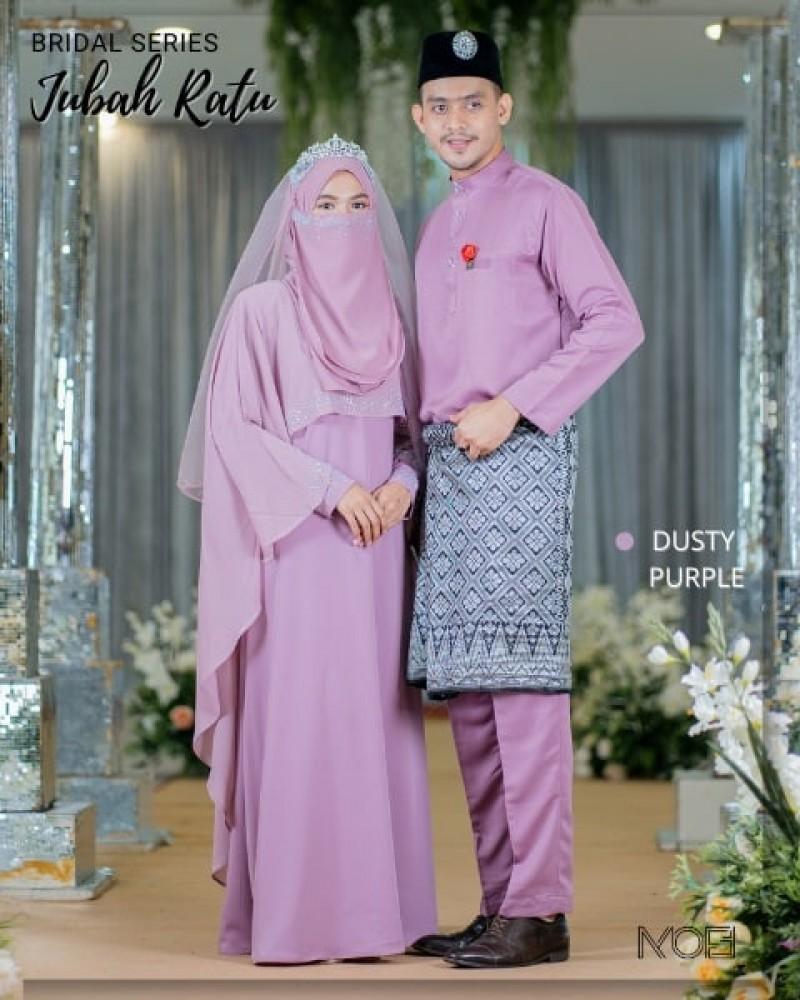 Ratu Arab In Dusty Purple