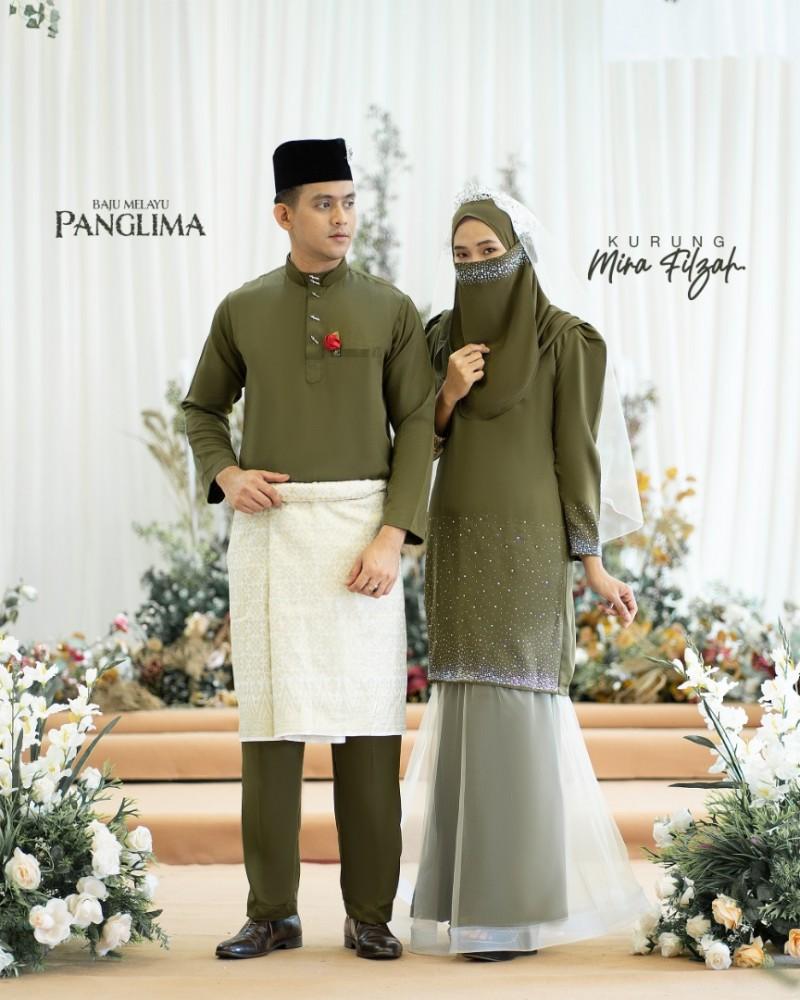 Mira Filzah In Olive Green