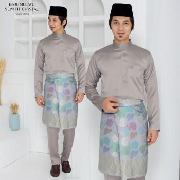 Crystal Silk Slimfit In Grey