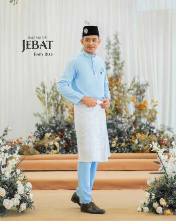 Melayu Jebat In Baby Blue