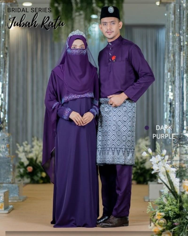 Ratu Arab In Dark Purple