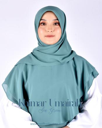 Khimar Umairah In Sea Green