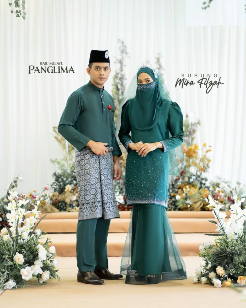 Mira Filzah In Emerald Green