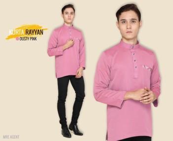 Rayyan Kurta In Dusty Pink