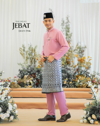 Melayu Jebat In Dusty Pink