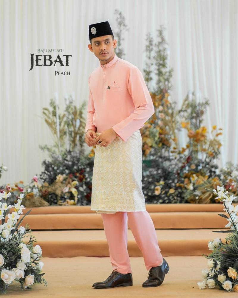 Melayu Jebat In Peach