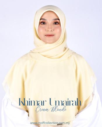 Khimar Umairah In Cream Blonde