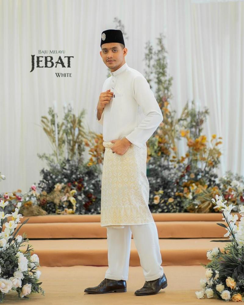 Melayu Jebat In Offwhite