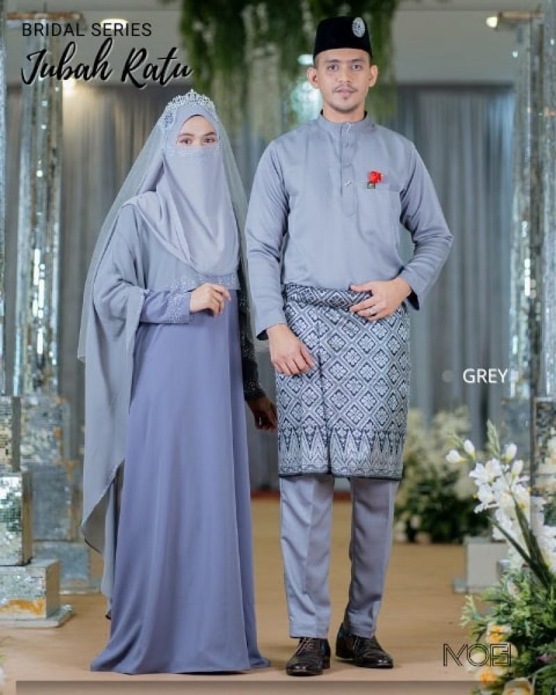 Ratu Arab In Grey