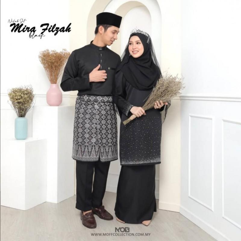 Mira Filzah In Black