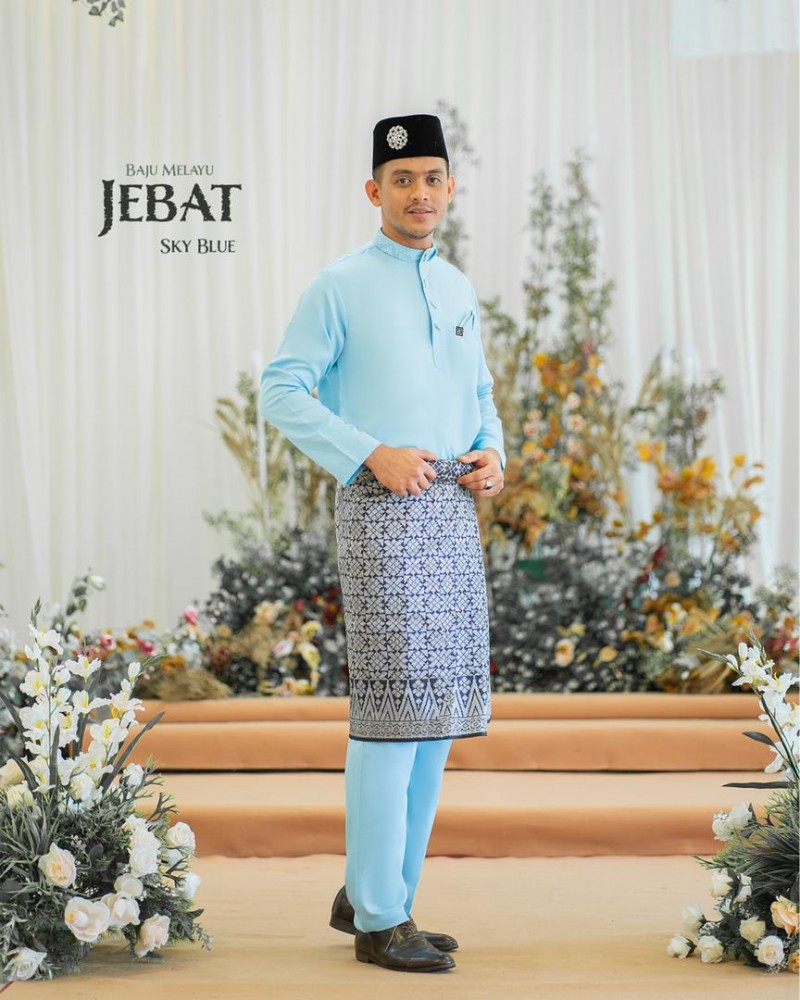Melayu Jebat In Sky Blue