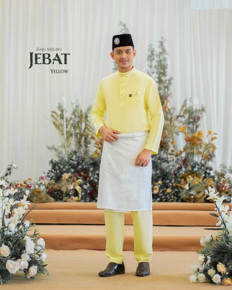 Melayu Jebat In Soft Yellow