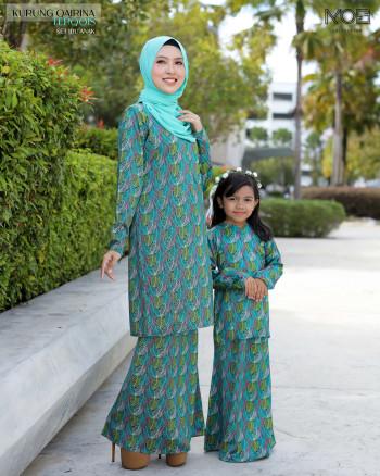 Qairina Kids In Turqouise