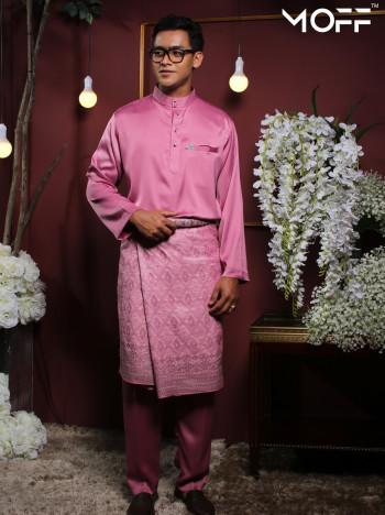MOFF Crystal Silk Moden In Dusty Pink