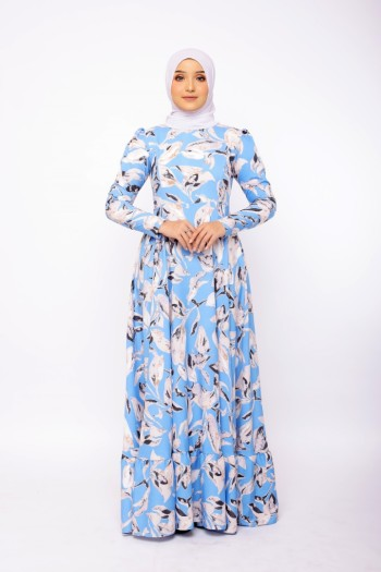 Feodora In Denim Blue