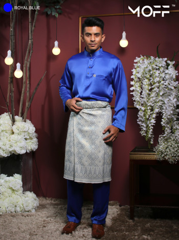 MOFF Crystal Silk Moden In Royal Blue