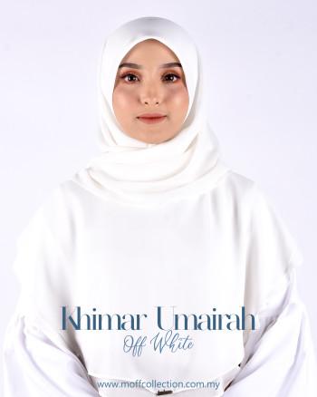 Khimar Umairah In Off White
