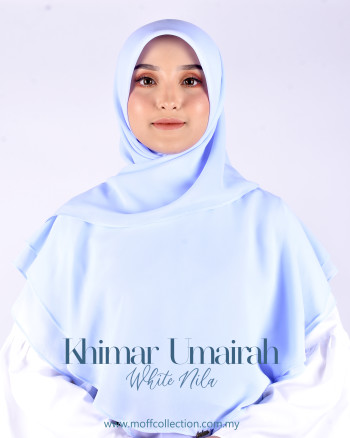 Khimar Umairah In White Nila