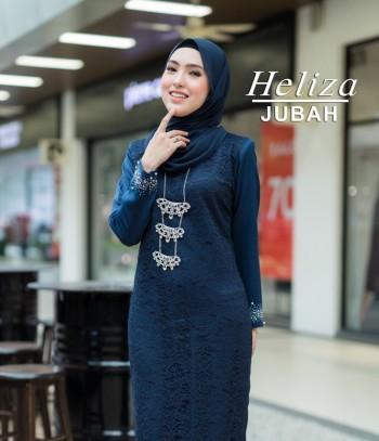 JUBAH HELIZA NAVY BLUE