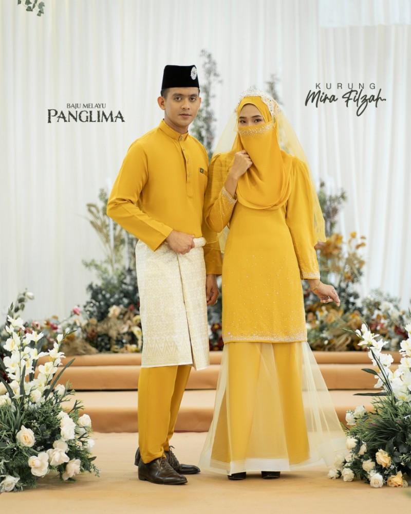 Mira Filzah In Mustard