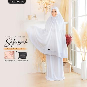 Telekung Premium Safiyyah - White