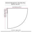 Telekung MINI AUNI - Black (2 in 1) Tudung Berdagu & labuh - ZARA AWLIYA