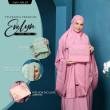 Telekung Premium EVELYN - Rose Pink - ZARA AWLIYA