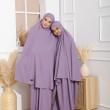 Telekung Madeline Kids - Dusty Purple - ZARA AWLIYA