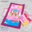 KIDZARA SAJADA (Sejadah Kanak-Kanak) - Pink Ship - ZARA AWLIYA