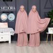 TELEKUNG MELIORA Pocket Plain - Dusty Pink - ZARA AWLIYA