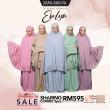 Telekung Premium EVELYN - Light Pink - ZARA AWLIYA