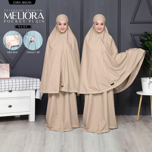 TELEKUNG MELIORA Pocket Plain - Nude - ZARA AWLIYA