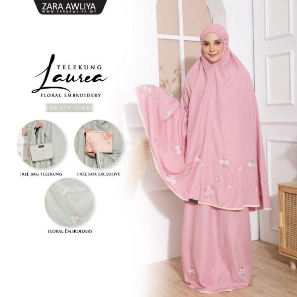 TELEKUNG LAUREA - Dusty Pink - ZARA AWLIYA