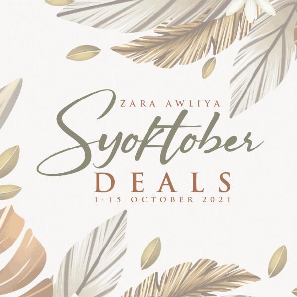 Combo Syoktober Deals - ZARA AWLIYA