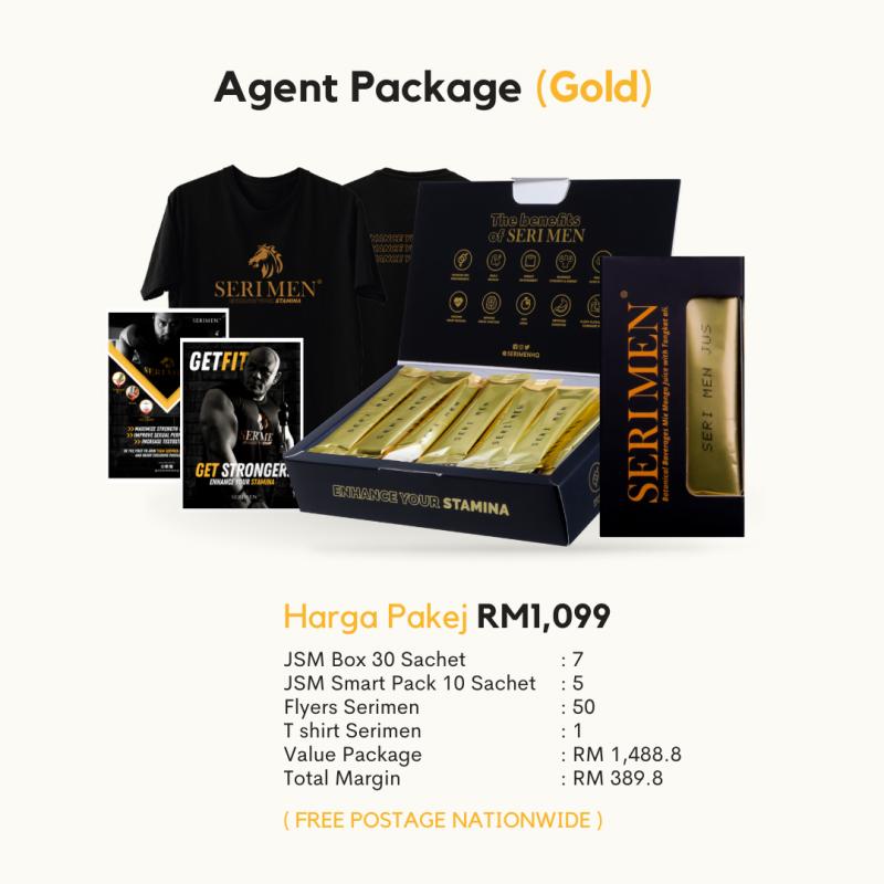 Serimen Agent Package (Gold)