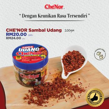 Che'Nor Sambal Udang x 1pc