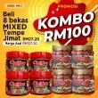 KOMBO KM3 - Sambal Garing Che'Nor Official