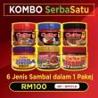 KOMBO SERBA SATU - Sambal Garing Che'Nor Official