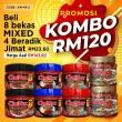 KOMBO 4 BERADIK - Sambal Garing Che'Nor Official