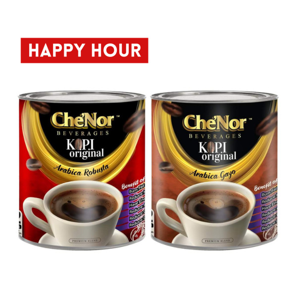 [HAPPY HOUR] Kombo Mixed Kopi Original - Sambal Garing Che'Nor Official