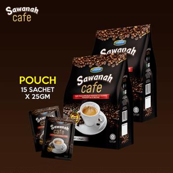 SAWANAH CAFE - PAPAN SACHET (15x25g) - Sawanah HQ