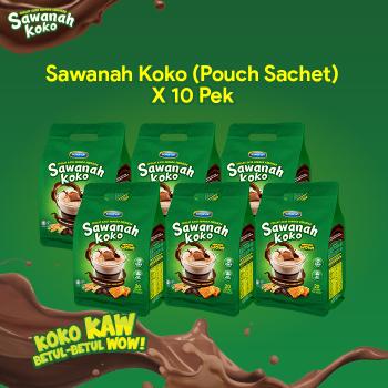 AGEN SAWANAH KOKO - POUCH SACHET (10pek)