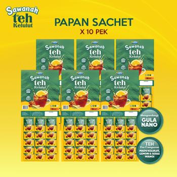 AGEN Sawanah Teh Kelulut - Papan Sachet (10 pek)