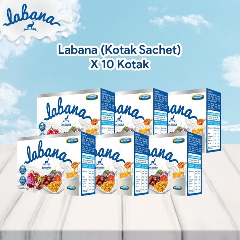 AGEN Labana Susu Kambing - Kotak Sachet (20 Pek)